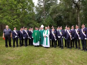 Priests and Honor Guard
